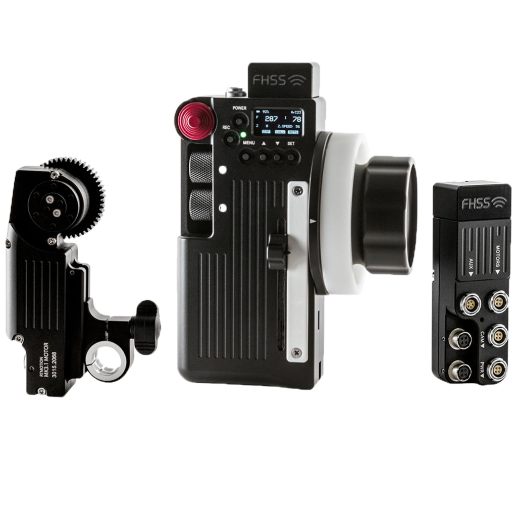 RT Motion · Wireless Remote Lens Control System